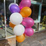 Luftballons Tag der offenen Tür